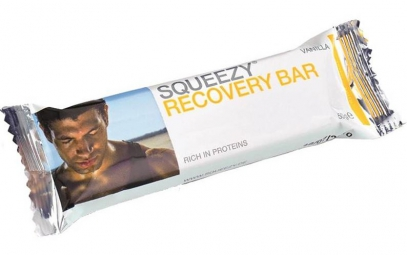 SQUEEZY Bar Recovery 50g Vanille/Chocolat