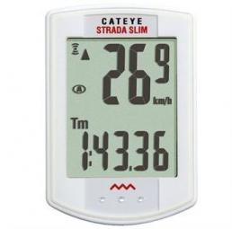 CATEYE Compteur STRADA SLIM CC-RD310 Sans Fil Blanc