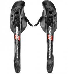 Campagnolo Paire de Manettes Ergopower Super Record EPS 11 vitesses Ultra Shift