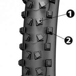 MICHELIN Pneu WILDMUD ADVANCED Tubeless Ready 27.5x2.00
