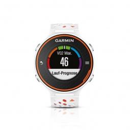 GARMIN Montre de running GPS Forerunner 620 Blanc Orange