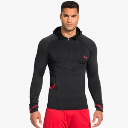 UNDER ARMOUR Baselayer ColdGear® Armour® Stretch 1/2 Zip