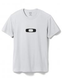 OAKLEY T-Shirt SQUARE ME Blanc