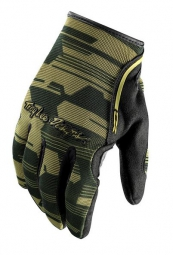 TROY LEE DESIGNS Paire de Gants Longs XC Vert Camo