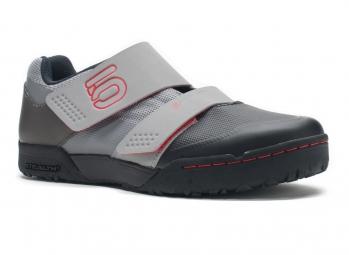 Chaussures VTT Five Ten MALTESE FALCON RACE 2014 Gris/Rouge