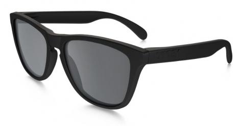 Gafas de sol OAKLEY FROGSKINS - Mate Negro / Negro Iridium OO9013-50