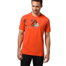 REEBOK T-shirt ONE SERIES GRAPHIC Orange