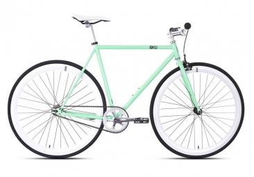 6KU Vélo Complet Fixie MILAN 1 Mint Green/White