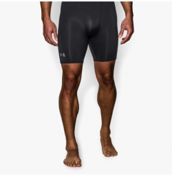 UNDER ARMOUR Short Compression HEATGEAR ARMOUR MID Noir