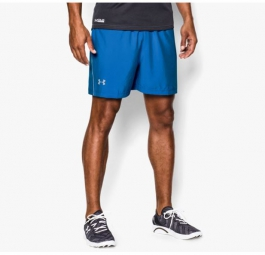 UNDER ARMOUR Short LAUNCH Bleu