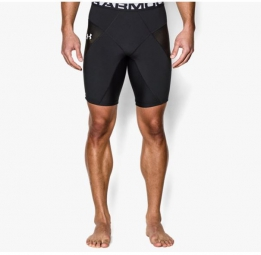 UNDER ARMOUR Short Compression Hommes HEATGEAR CORESHORT PRIMA Noir