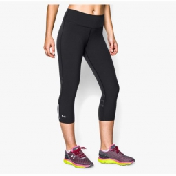 UNDER ARMOUR Corsaire Compression Femmes STRETCH WOVEN ARMOUNTVENT Noir