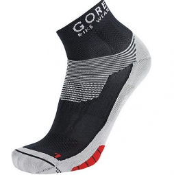 GORE BIKE WEAR Lot de 3 paires de chaussettes XENON Noir/Rouge
