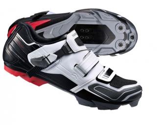 Chaussures VTT Shimano 2015 XC51 Noir/Blanc