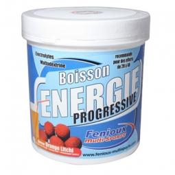 FENIOUX Multi-Sports Boisson Progressive Pot de 500g Gout Orange-Litchi