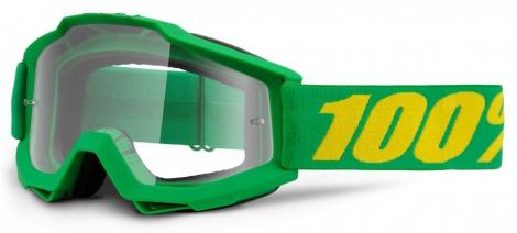 100% Masque ACCURI FORREST Vert Ecran Transparent