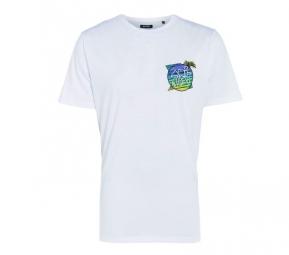 ANIMAL T-Shirt LUKEYS Blanc