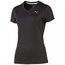 PUMA Tee-Shirt Femme Noir