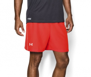 Photo ref 810 UNDER ARMOUR Short Hommes LAUNCH Orange