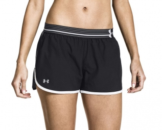 Photo ref 024 UNDER ARMOUR Short Femmes PERFECT PACE Noir