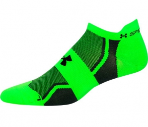 UNDER ARMOUR Chaussettes Homme SPEEDFORM NO-SHOW Vert