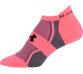 UNDER ARMOUR Chaussettes Femme SPEEDFORM NO-SHOW Rose