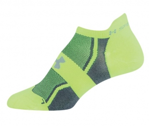 UNDER ARMOUR Chaussettes Femme SPEEDFORM NO-SHOW Jaune