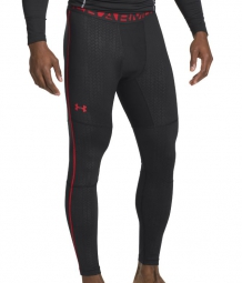 UNDER ARMOUR Legging de Compression Hommes COLDGEAR Noir