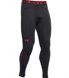 UNDER ARMOUR Legging de Compression Hommes ARMOURSTRETCH COLD GEAR Noir