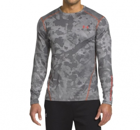 UNDER ARMOUR Maillot Manches Longues COLDGEAR EVO CREW Graphite