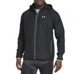 UNDER ARMOUR Veste ANCHOR RUN Noir