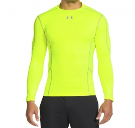 UNDER ARMOUR Baselayer COLDGEAR EVO Jaune