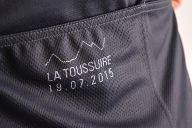 LE COQ SPORTIF Maillot Officiel Etape Du Tour La Toussuire