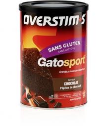 OVERSTIMS GATOSPORT (Sans Gluten) boîte 400g Goût Chocolat