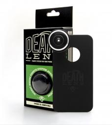 DEATHLENS Fisheye pour IPhone 5C Noir
