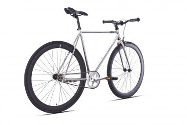 6KU Vélo Complet Fixie DETROIT Chrome