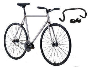 FOCALE 44 2015 Pack Vélo Complet Fixie S-EXPRESS + Guidon LOYAL Brut