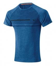 MIZUNO T-Shirt TUBULAR Bleu Homme