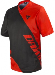 DAINESE Maillot Manches Courtes BASANITE Noir Rouge