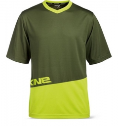 DAKINE 2015 Maillot Manches Courtes VECTRA Olive Jaune