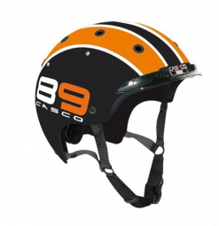 CASCO 2015 Casque Ville VAE E.MOTION CRUISER Edition ''89'' Noir Orange