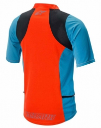 ALPINESTARS Maillot Manches Courtes DROP 2 Orange Bleu