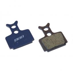 BBB Paire de plaquettes Organique DiscStop Formula Mega The One C1 R1 RX RC et RO BB