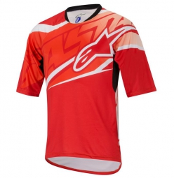 ALPINESTARS Maillot Manches Courtes SIGHT Rouge