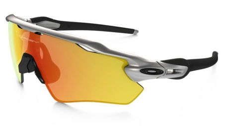 OAKLEY Sunglasses RADAR EV PATH Silver/Fire Iridium Ref OO9208-02