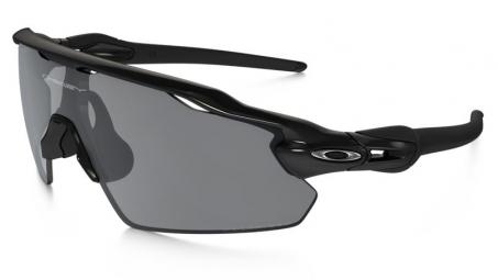 OAKLEY Lunettes POLARIZED RADAR EV PITCH Black/Black Iridium Polarized Réf OO9211-07