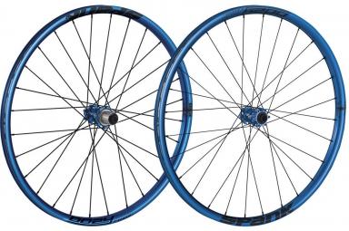 SPANK Paire de Roues 27.5'' OOZY TRAIL 295 15mm 12x142mm Bleu