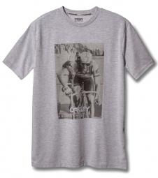 OAKLEY T-Shirt FACTORY PILOT GREG LEMOND Gris