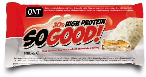 QNT en-cas hyperprotéiné SO GOOD caramel 60gr