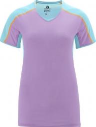 SALOMON T-Shirt TRAIL RUNNER Femme Violet